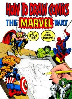 Drawing Comics the Marvel Way