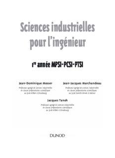 Sciences industrielles pour l'ingenieur Tout-en-un (MPSI PCSI PTSI)