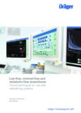 Low Flow Anaesthesia Booklet, en Low-flow, minimal-flow and metabolic-flow anaesthesia Clinical ...
