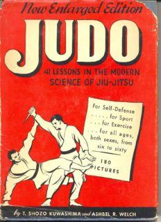 Judo. 41 Lessons in the Modern Science of Jiu-Jitsu. New Enlarged Edition