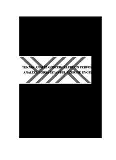 teknik analiz göstergelerinin performans analizi: borsa istanbul üzerine uygulama