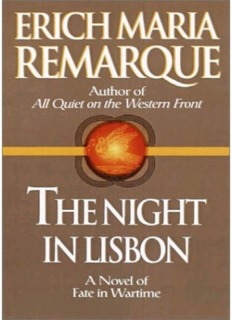 Erich Maria Remarque-The Night In Lisbon.pdf