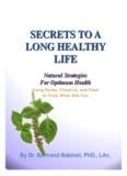 secrets toa long healthy life