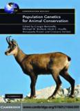 Population Genetics for Animal Conservation (Conservation Biology)