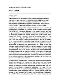 The Scientific Dating of the Mahabharat War - xa.yimg.com