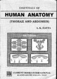A.K Dutta Thorax & Abdomen
