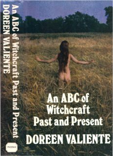 Doreen Valiente An ABC Of Witchcraft