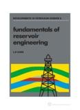 fundamentals of reservoir engineering