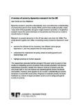 A review of poverty dynamics research in the UK - Joseph Rowntree