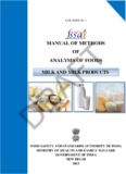 manual of methods of analysis of foods milk and milk products