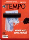 Majalah Tempo - 31 Oktober 2016: Munir Mati Siapa Peduli