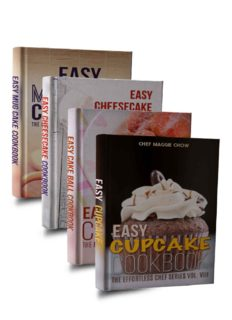 Easy Cake Cookbook Box Set: Easy Cupcake Cookbook, Easy Mug Cake Cookbook, Easy Cake Ball Cookbook, Easy Cheesecake Cookbook