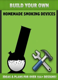 How to grow Weed 420 - Build Your Own Homemade Smoking Devices.pdf