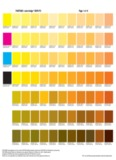 Pantone / CMYK Color Chart