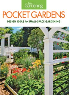 Fine gardening pocket gardens : [design ideas for small-space gardening]