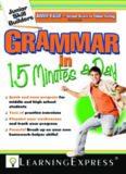 Grammar in 15 Minutes a Day: Junior Skill Buider (Junior Skill Builders)