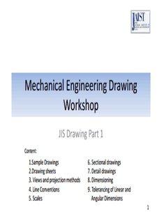 Mechanical Engineering Drawing Workshop