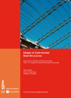 Design of cold-formed steel structures. : Eurocode 3 : design of steel structures. Part 1-3, Design of cold-formed steel structures