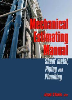 Mechanical Estimating Manual: Sheet Metal, Piping & Plumbing
