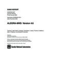 ALEGRA-MHD: Version 4.6
