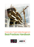 Construction Project Safety Management Best Practices Handbook