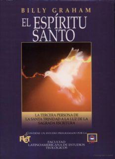 El Espiritu Santo (Billy Graham)