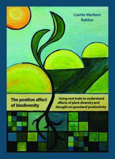 The positive effect of biodiversity Lisette M arleen Bakker The positive effect of biodiversity