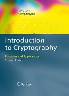 Introduction to Cryptography: Principles and Applications, 2nd Edition (Information Security and Cryptography)