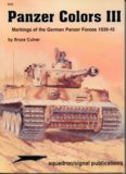 Panzer Colors, Vol. 3: Markings of the German Army Panzer Forces