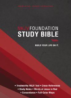 NKJV, Foundation Study Bible