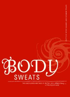 Body sweats : the uncensored writings of Elsa von Freytag-Loringhoven