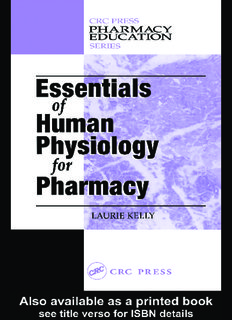 Essentials Human Physiology