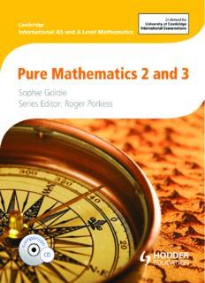 Pure Mathematics 2 & 3.pdf