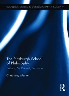 The Pittsburgh School of Philosophy: Sellars, McDowell, Brandom