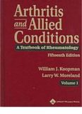 Arthritis and Allied Conditions; A Textbook of Rheumatology (14th Ed.) – Lippincott Williams