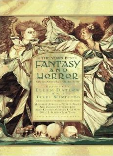 The Year's Best Fantasy and Horror: Ninth Annual Collection (No. 9)