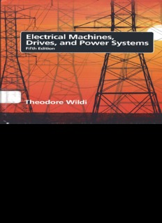 Page 1 Page 2 ELECTRICAL MACHINEs, DRIVEs, AND POvvert SYSTEMs FIFTH EDITION ...