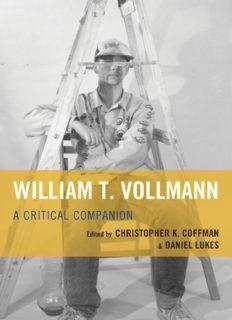 William T. Vollmann : a critical companion