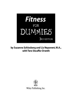 Fitness For Dummies 3rd Edition