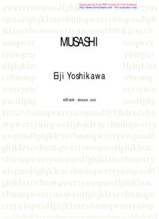 Eiji Yoshikawa – Musashi Indonesia 1-14