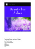 Beauty for Ashes - Joyce Meyer