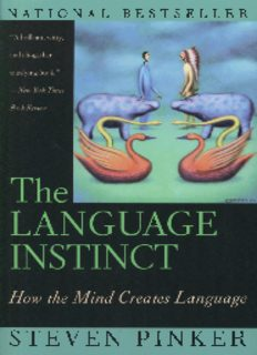 Steven Pinker The language instinct.pdf