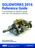 SOLIDWORKS 2016 Reference Guide - SDC Publications