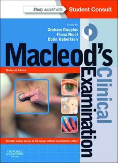 Macleod's Clinical Examination