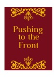 Pushing to the Front by Orison Swett Marden