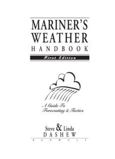 Mariner's Weather Handbook - SetSail