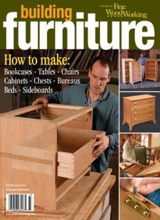 Fine Woodworking 2007 Building Furniture