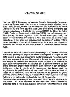 L'oeuvre Au Noir-yourcenar Marguerite-1968