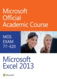 Excel 2013 Microsoft Class Book