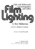 Film Lighting – Kris Malkiewicz